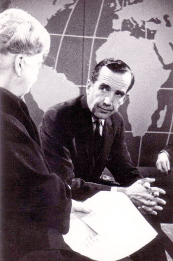 Roosevelt and Murrow